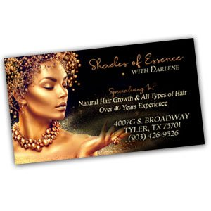 Single Sided Business Card Design